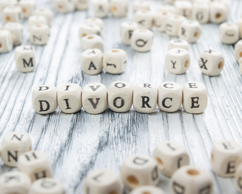 Divorce dice